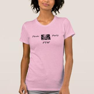 Partido do pirata - FTW Camiseta