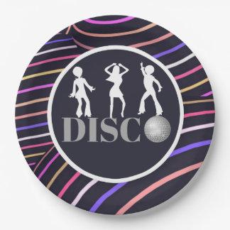 Partido Funky dos anos 70 do tema do disco dos