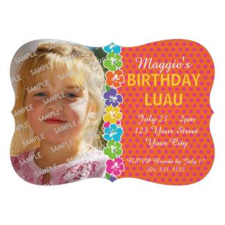 Partido havaiano de Luau Convites