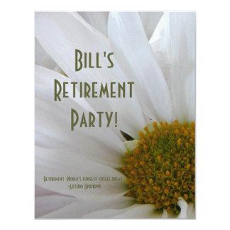 Partido-Margarida da aposentadoria+Citações do Convites Personalizado