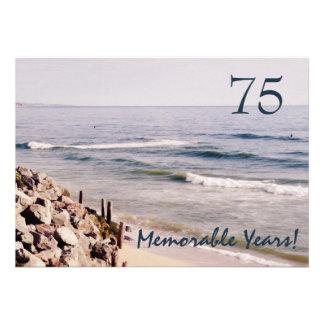 Partido-Oceano memorável de 75 anos aniversário