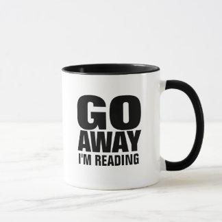 Parto, eu estou lendo canecas de café engraçadas
