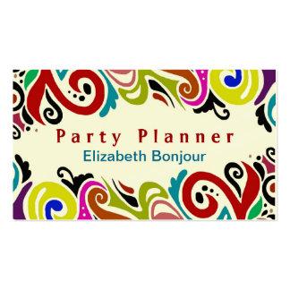 Party (MUDANÇA a ALGUMA COR) o cartão de visita do