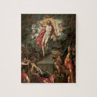 Páscoa a ressurreição do quebra-cabeça de Jesus