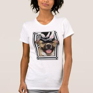 Páscoa - algum coelho o ama - Pitbull Tshirts