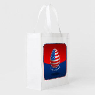 Páscoa americana sacolas ecológicas