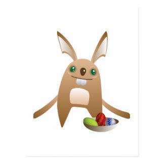 Páscoa Bunny_3 Cartão Postal
