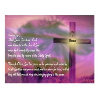 Páscoa - é aumentado - religiosa cartoes postais
