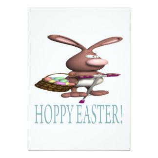 Páscoa Hoppy Convite
