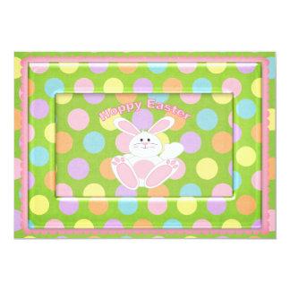 Páscoa Hoppy Convite 12.7 X 17.78cm