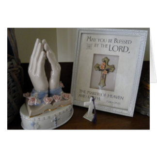 Páscoa, religiosa cartão comemorativo