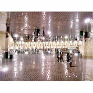 Passageiro da Meca Foto Escultura