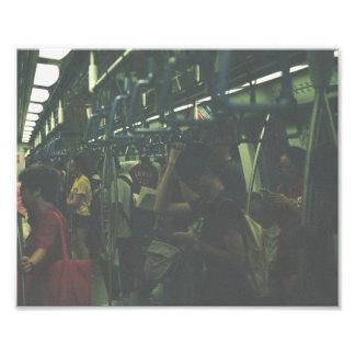 Passageiros 3 impressão de foto