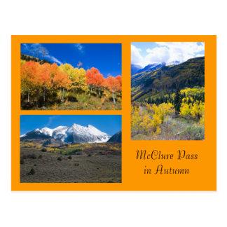 Passagem de McClure no cartão de Colorado do