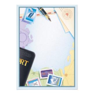 Passaporte ao © do destino