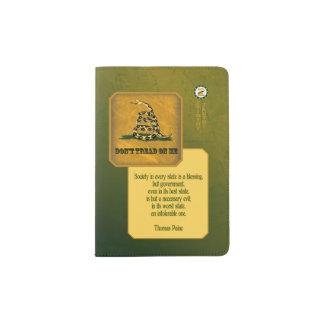 passaporte de gadsden - paine capa para passaporte