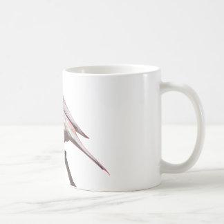 Passarinho em um ramo caneca de café