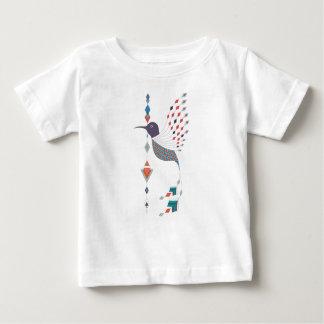 Pássaro asteca tribal étnico do vintage camiseta para bebê