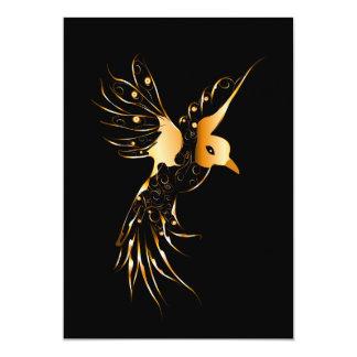 Pássaro Convite 12.7 X 17.78cm