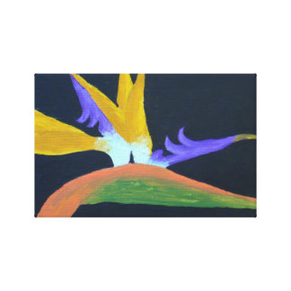 Pássaro de canvas do paraíso impressão em tela canvas