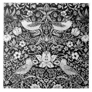 Pássaro de Nouveau da arte & tapeçaria da flor,
