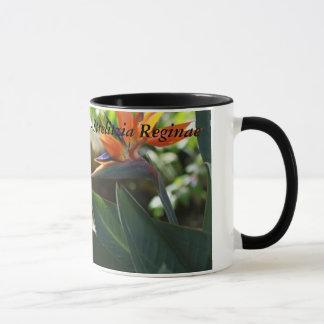 Pássaro de paraíso - caneca do presente de Reginae