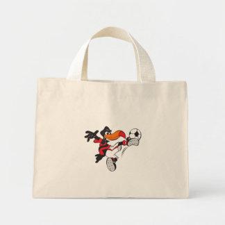 Pássaro do futebol bolsa para compras