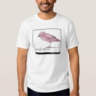 Pássaro do Lilac de Edward Lear Tshirts