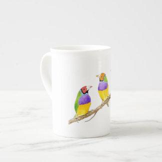 Pássaro do passarinho de Gouldian Xícara De Chá