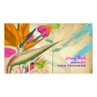 Pássaro do vintage de PixDezines do ♥♥♥ do paraíso Cartão De Visita