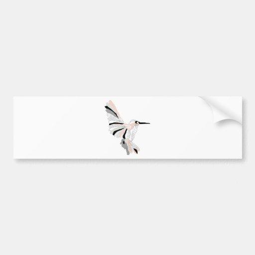Pássaro moderno modelado adesivos