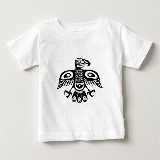 Pássaro nativo do totem camiseta para bebê