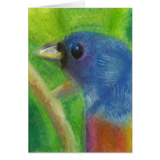 Pássaro Notecard do primavera Cartão De Nota