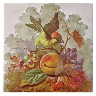 Pássaro pintado à mão do Victorian de Repro &