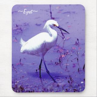 Pássaro roxo Mousepad do Egret