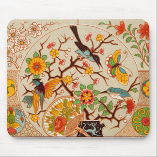 Pássaros & borboletas Mousepad