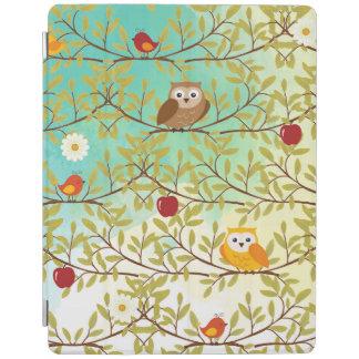 Pássaros do outono capa smart para iPad