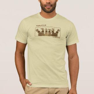 Pássaros do Sepia - camiseta