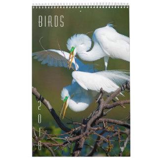 Pássaros - dos animais selvagens calendário 2018