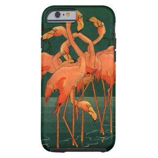 Pássaros dos animais selvagens do vintage, capa tough para iPhone 6