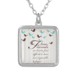 Pássaros e amigos bijuterias personalizadas