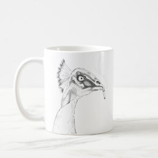 Pássaros engraçados impares da caneca   de Peahen