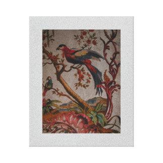 """Pássaros nas canvas .75"""" do ~ do paraíso impressão em tela"""