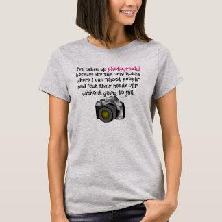 Passatempo da fotografia camiseta