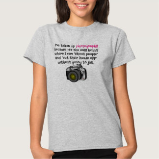 Passatempo da fotografia tshirt