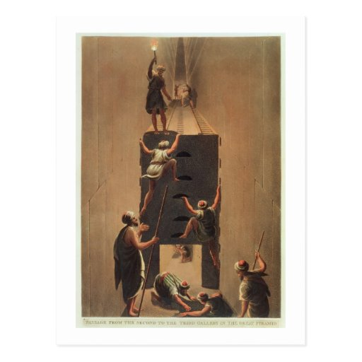 Passe da segunda a terceira galeria no th cartão postal