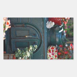 """""""Passe fotografia original do fogão"""" por Lisa Adesivo Retangular"""