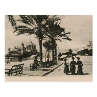 Passeio agradável pelo cartão 1908 da réplica da