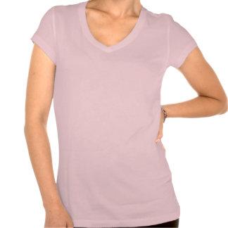 Passeio como Bella T-shirt da senhora Cor-de-rosa