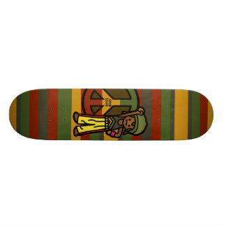 passeio da reggae shape de skate 20,6cm